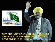 "Law and order not at Mark, Sukhbir again sang his favourite ""Pakistan-Pakistan"" Song"