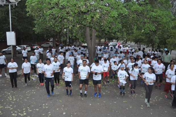 """First Time Tricity ran for their Mother Earth in """"Chandigarh Earth Day Marathon"""""""