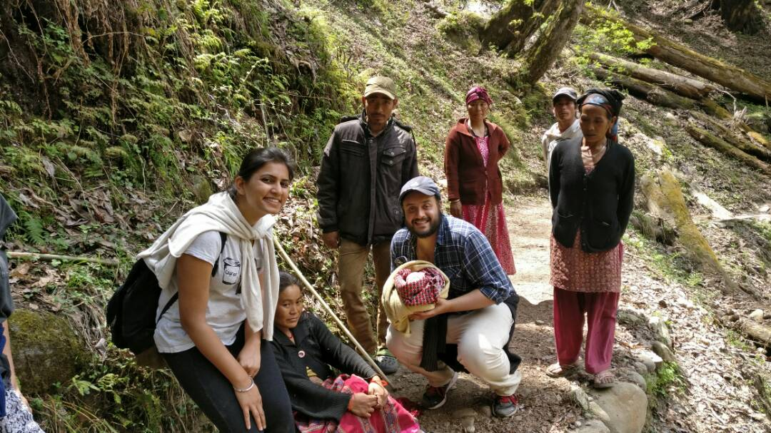 A baby delivery while trekking in hills of Kheerganga