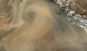 Its Pakistan Dust storm that is snatching our breaths away yet again says MODIS