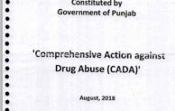 "A 56 ""Inch"" CADA of Pb Govt on Drugs"