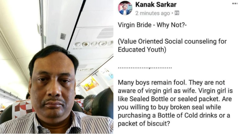 This professor is proven Mud; he shall be thrown away..See what he speaks for women