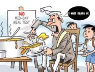 For Pb. Edu Dept, Mid Day Meal Tasted by teacher stands Tested, Are you Serious?