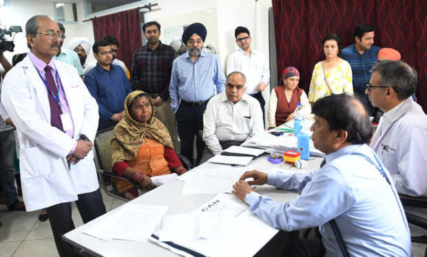 Two decades of wait on papers; GI surgery OPD now a reality at PGIMER