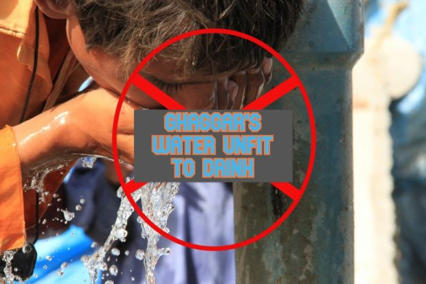 Residing near Ghaggar River? Think before you Drink Water!!