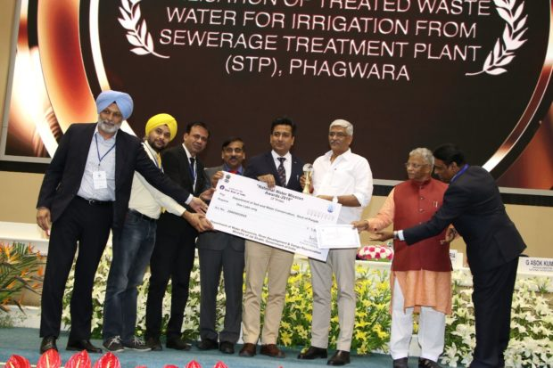 Punjab bagged Award for Utilization of Treated Water from STP