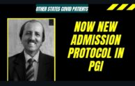 New Protocol for other state COVID patient admission in PGI Chandigarh
