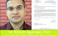 Dr Ritesh Agarwal awarded with prestigious Shanti Swaroop Bhatnagar award