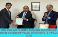 PGI E-IAPSCON 2020 brought 500 surgeons at one platform virtually